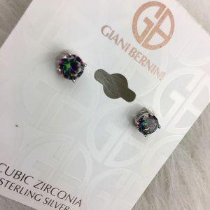 Giani Bernini Jewelry - Giani Bernini cubic zirconia sterling silver studs